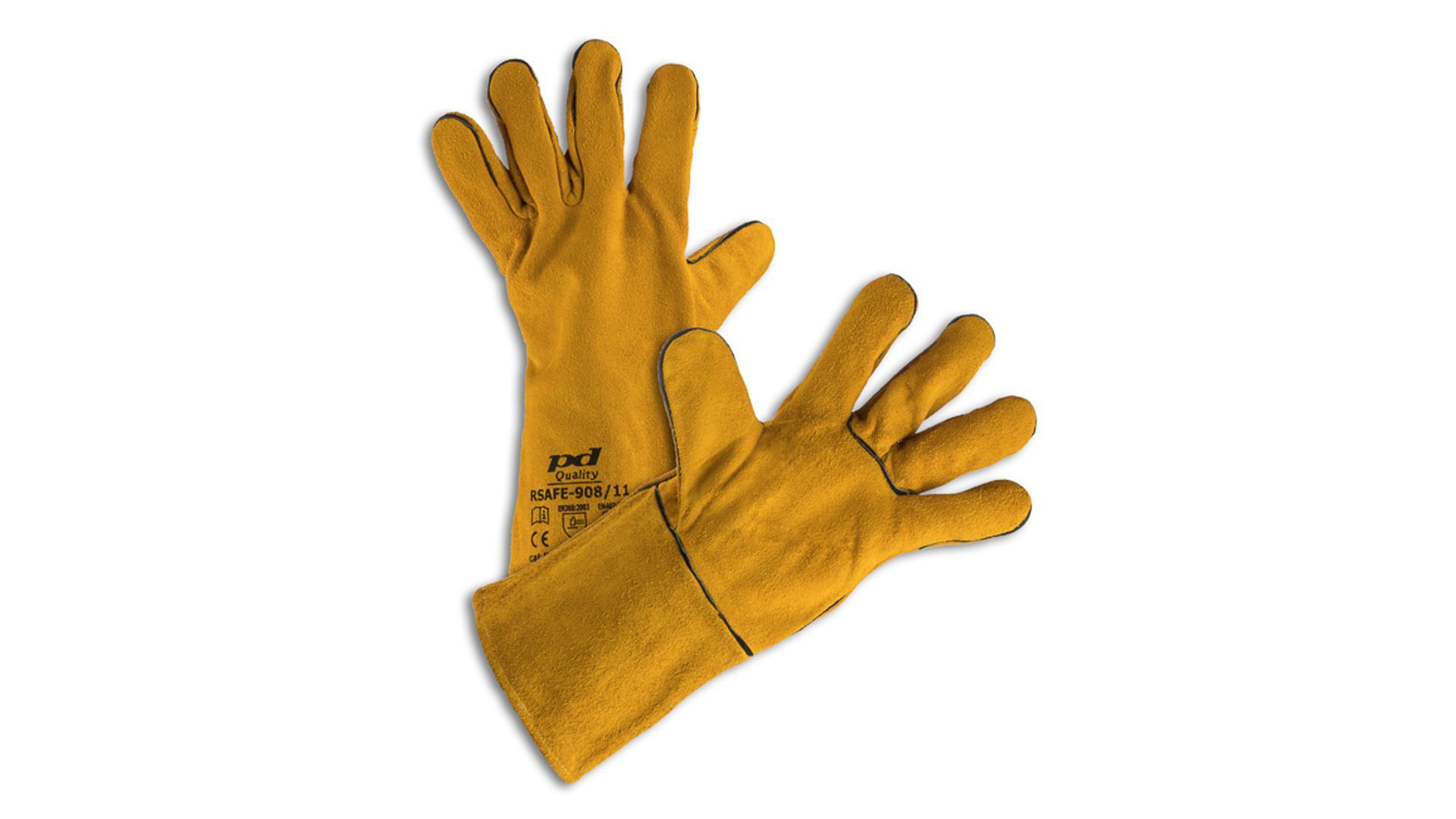 RSAFE-98/11 Zváracie rukavice žlté
