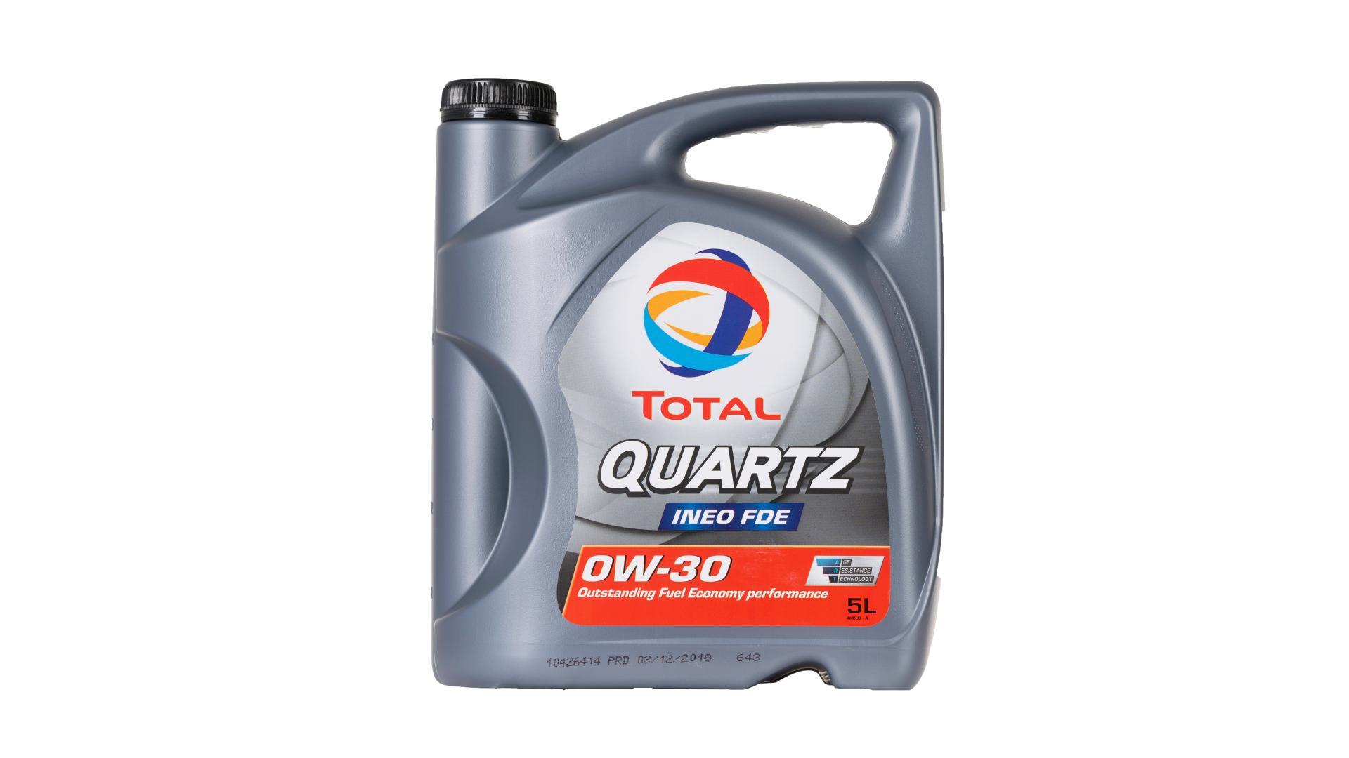 Total 0w-30 Quartz ineo FDE 5L (205313)