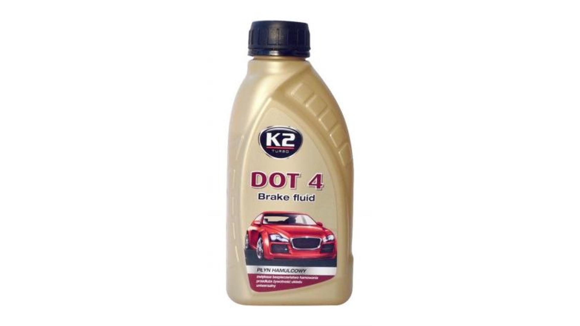 K2 DOT 4 - 500 ml - brzdová kvapalina