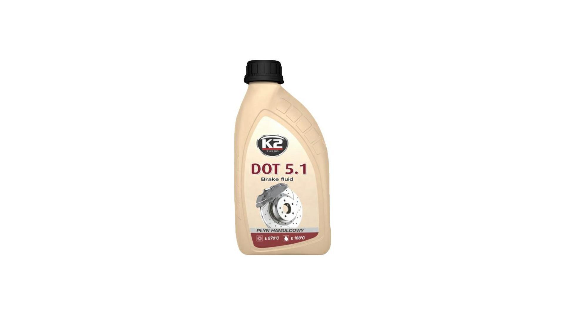 K2 DOT 5.1 - 500 g - brzdová kvapalina