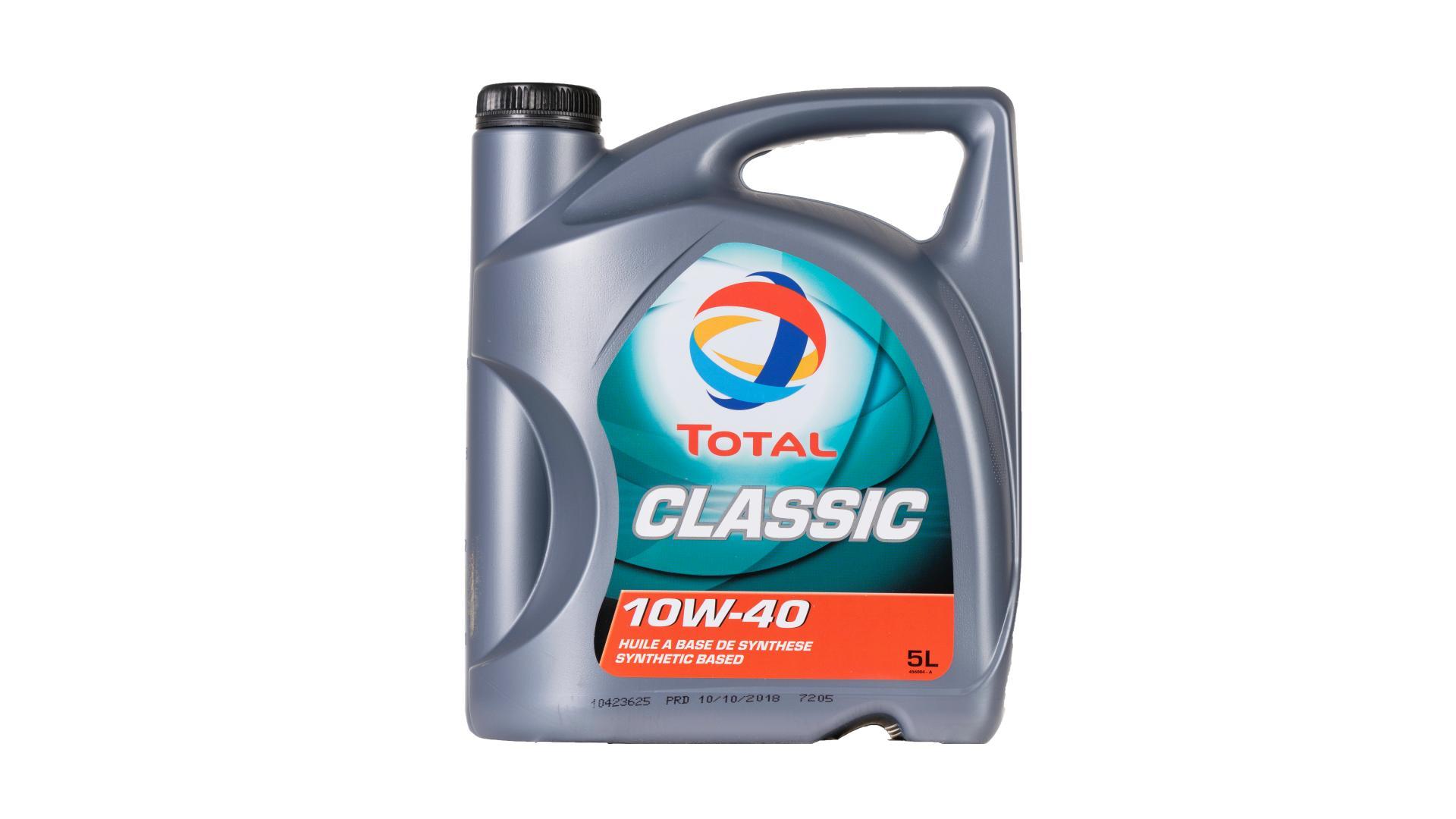 Total 10w-40 CLASSIC 5L (156357)