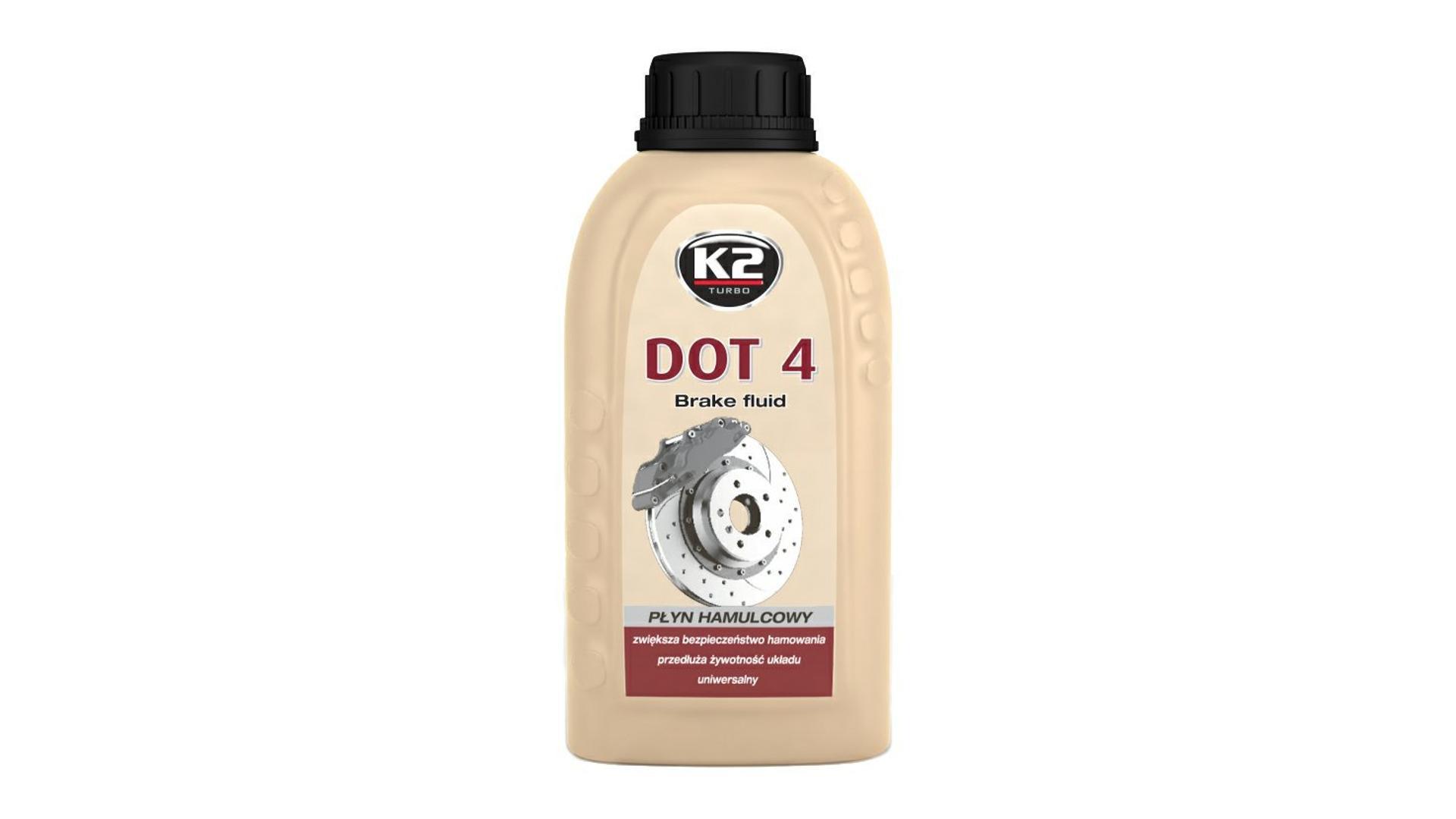 K2 DOT 4 - 250 ml - brzdová kvapalina