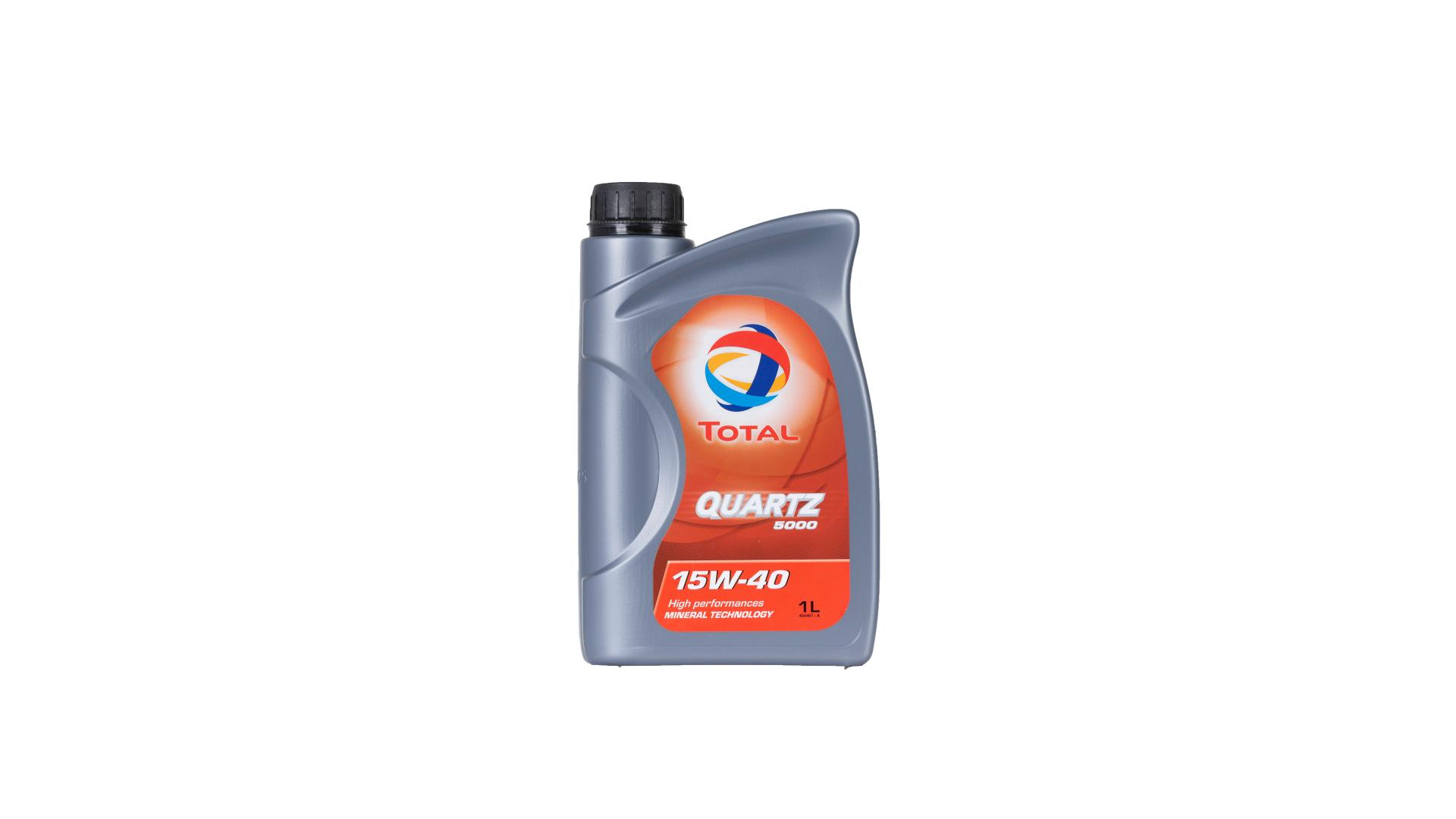 Total 15w-40 Quartz 5000 1L (166236)