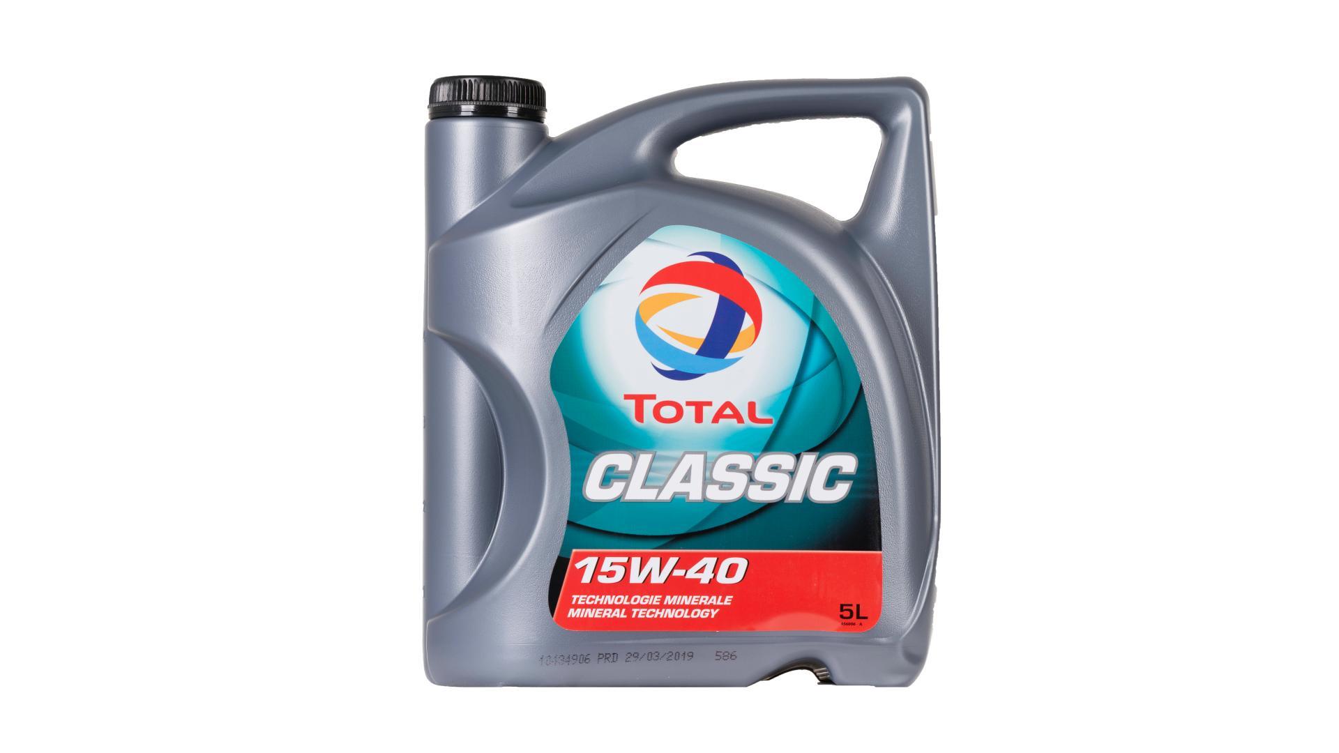 Total 15w-40 Classic 5L (156395)