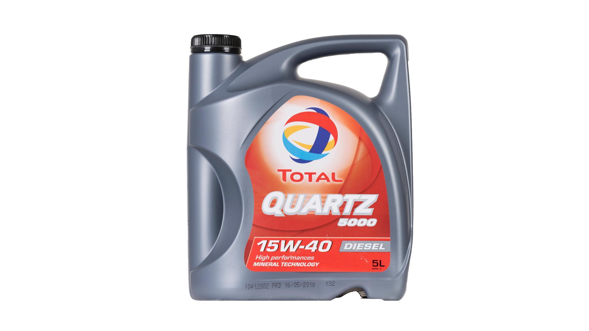 Total 15w-40 diesel 5000 5L (148644)