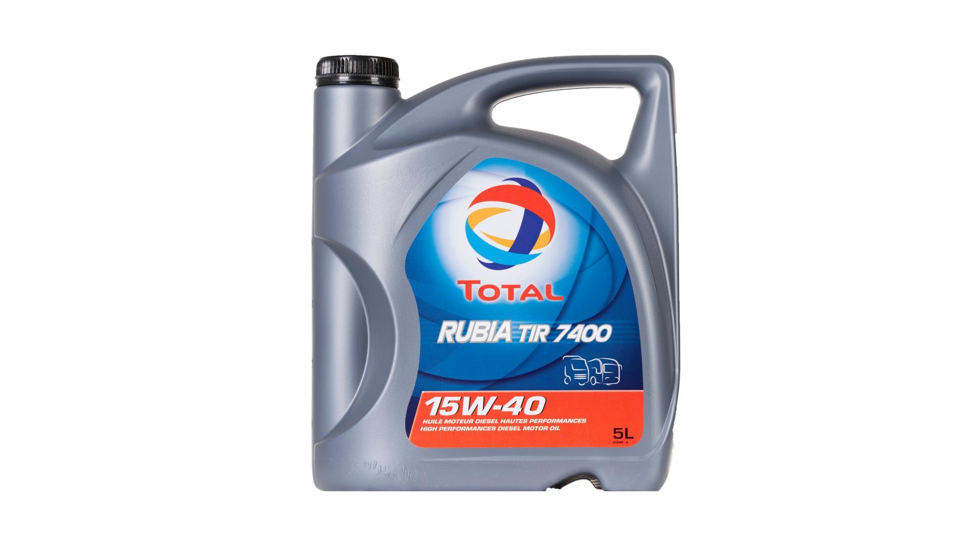 Total 15w-40 RubiaTir 7400 5L (148585)