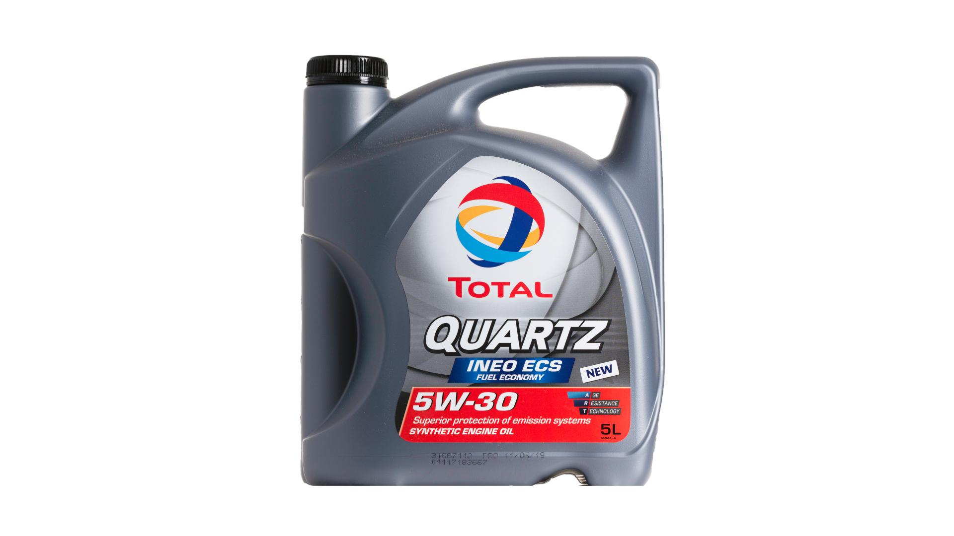 Total 5w-30 Quartz Ineo Ecs 5L (151261)