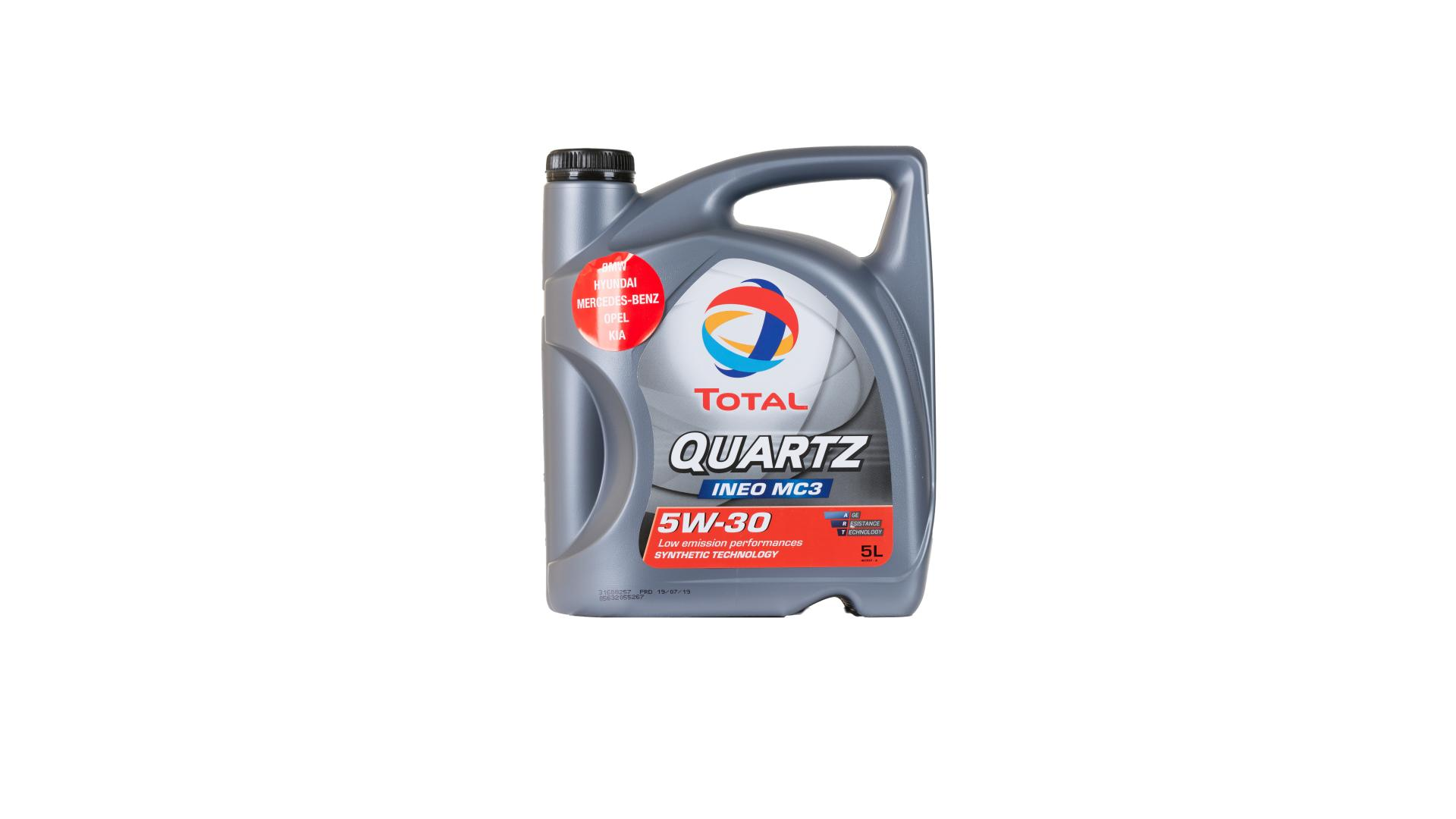 Total 5w-30 Quartz Ineo MC3 5L (157103)