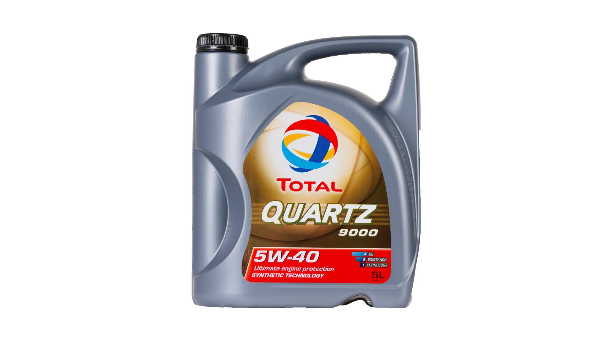 Total 5w-40 Quartz 9000 5L (148650)