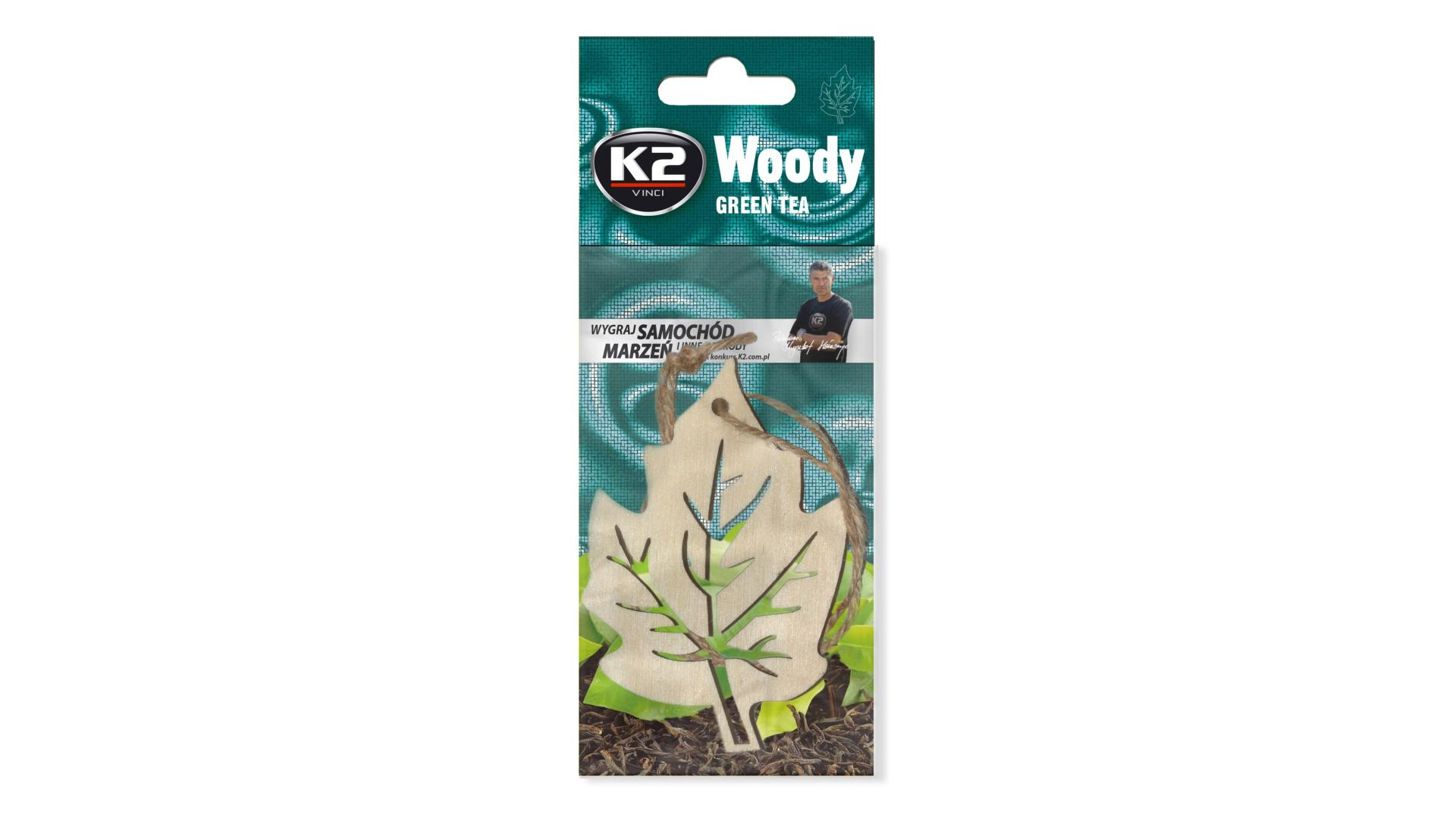 K2 Woody Leaf Green Tea