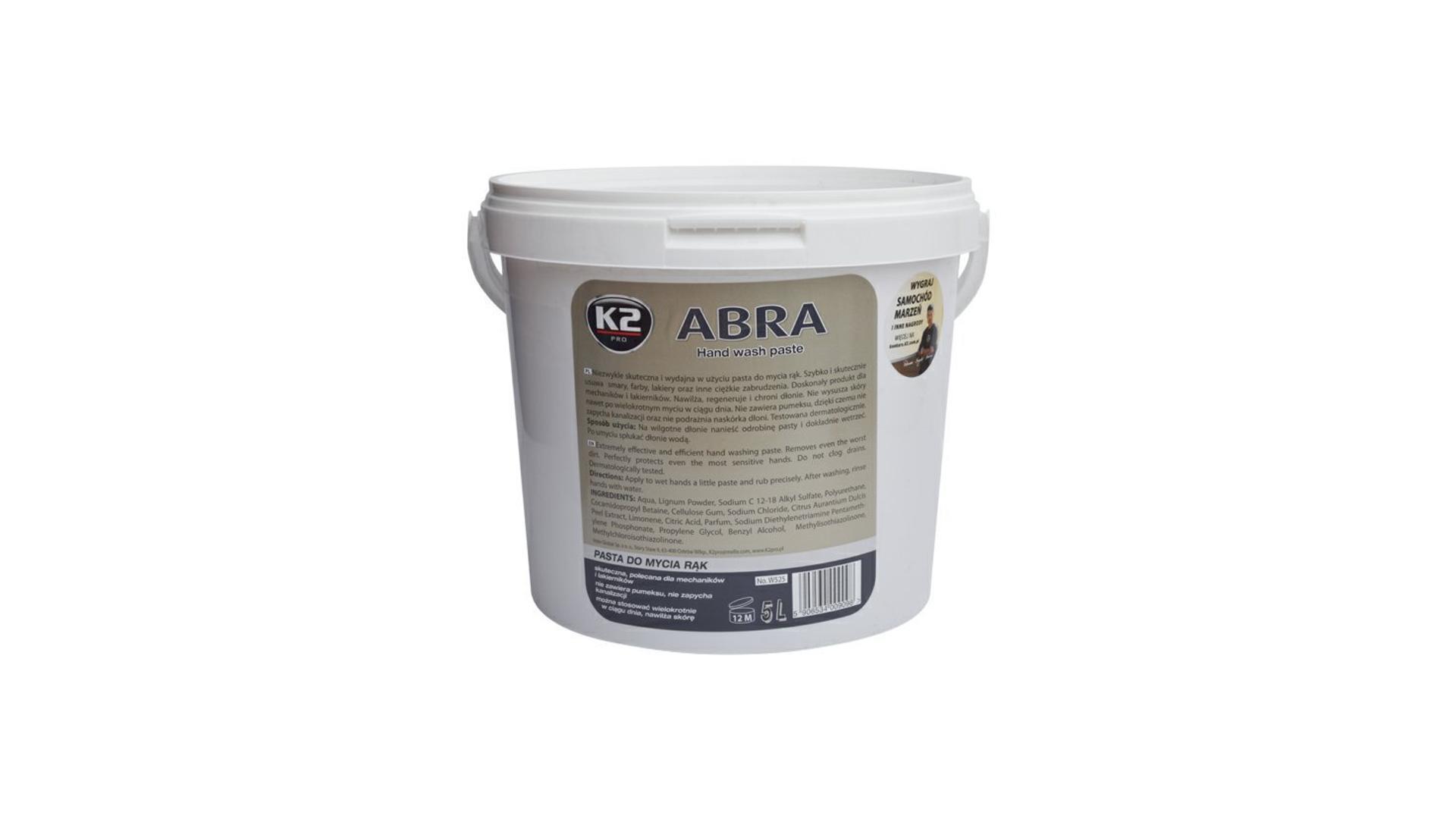 K2 ABRA 5 l - pasta na umývanie rúk