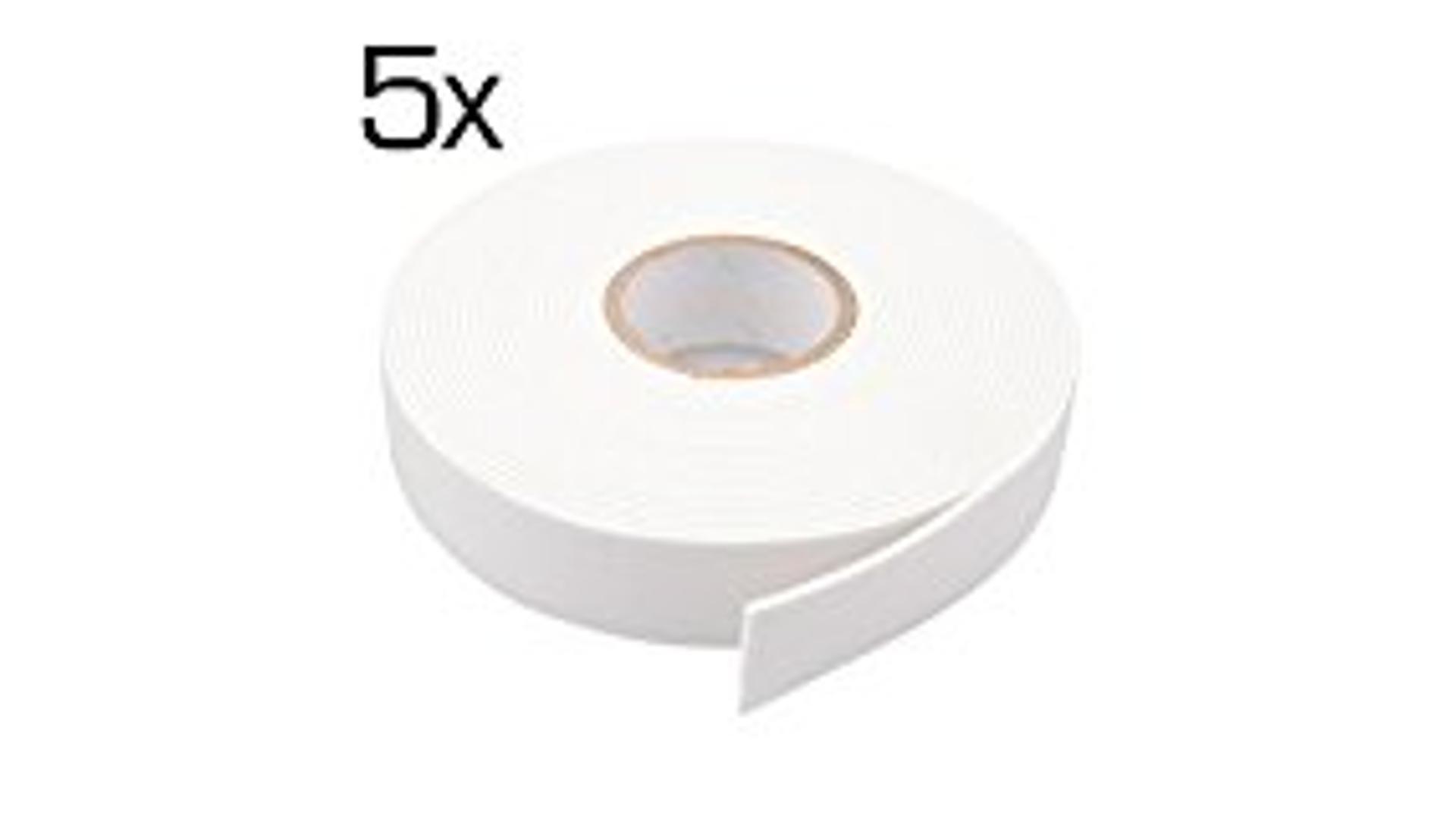 4CARS SET 5ks Obojstranné montážne pásky šírka 19 mm dĺžka 5m