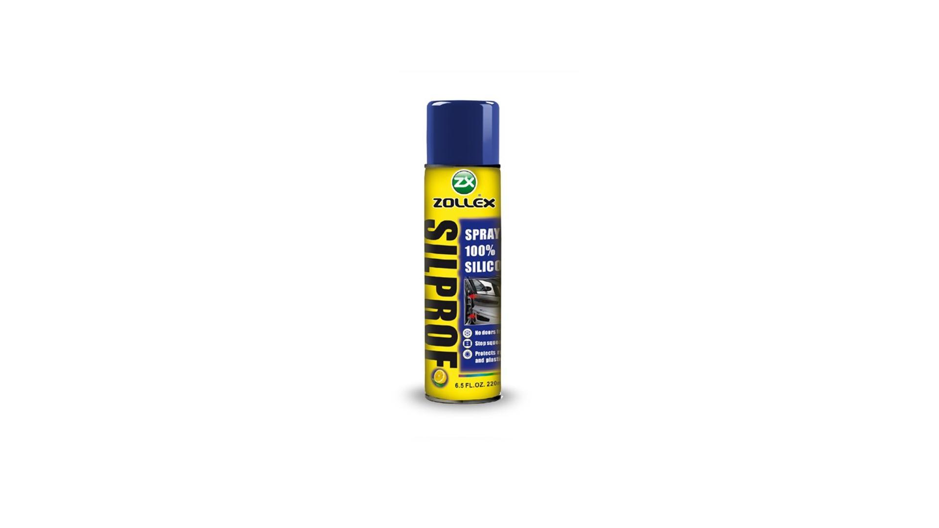 ZOLLEX Silprof 100% silikónový sprej 220 ml (B-100Z)
