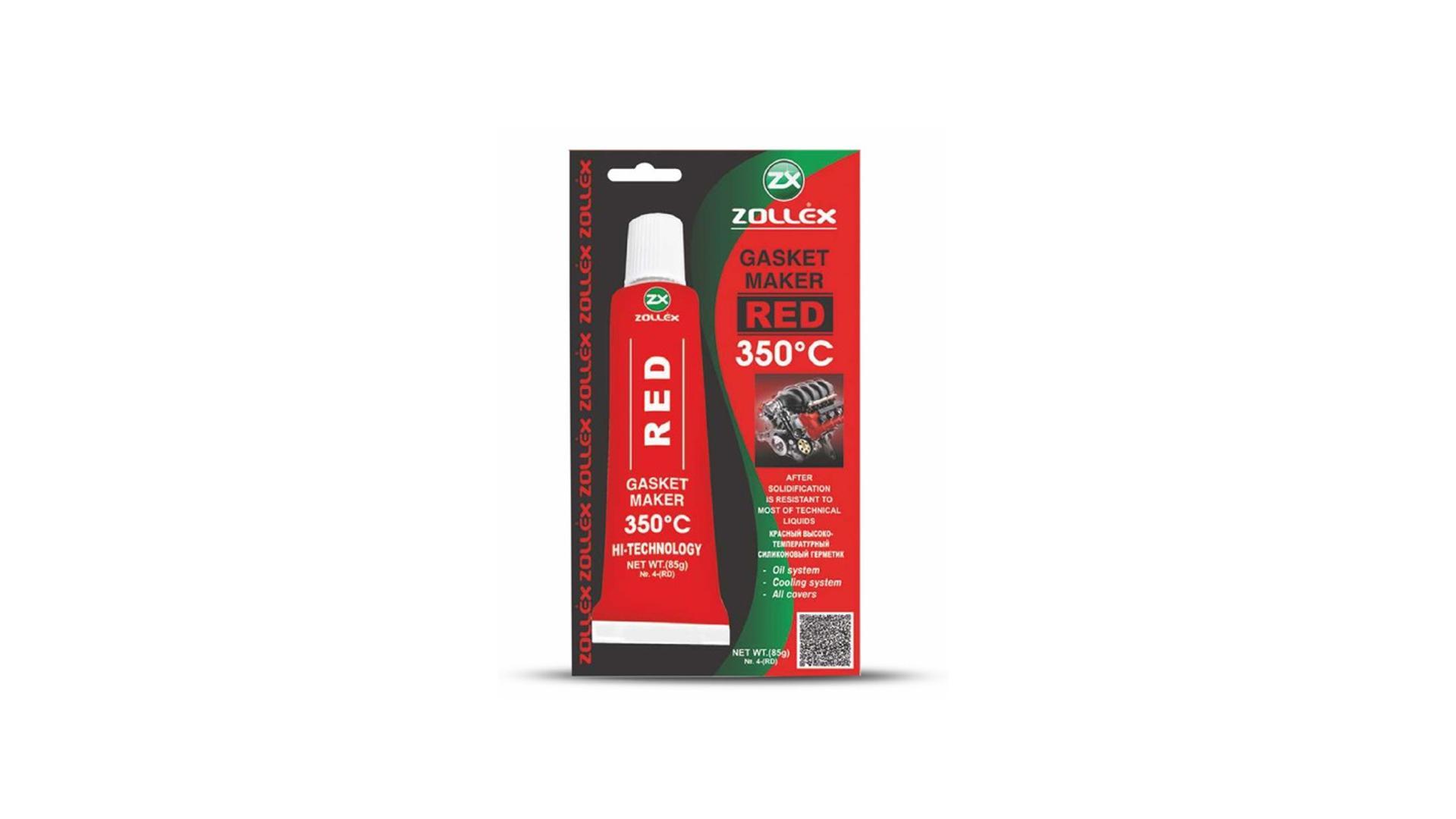ZOLLEX Tesniaci prostriedok 85g červený (bez vône) (8-RD)