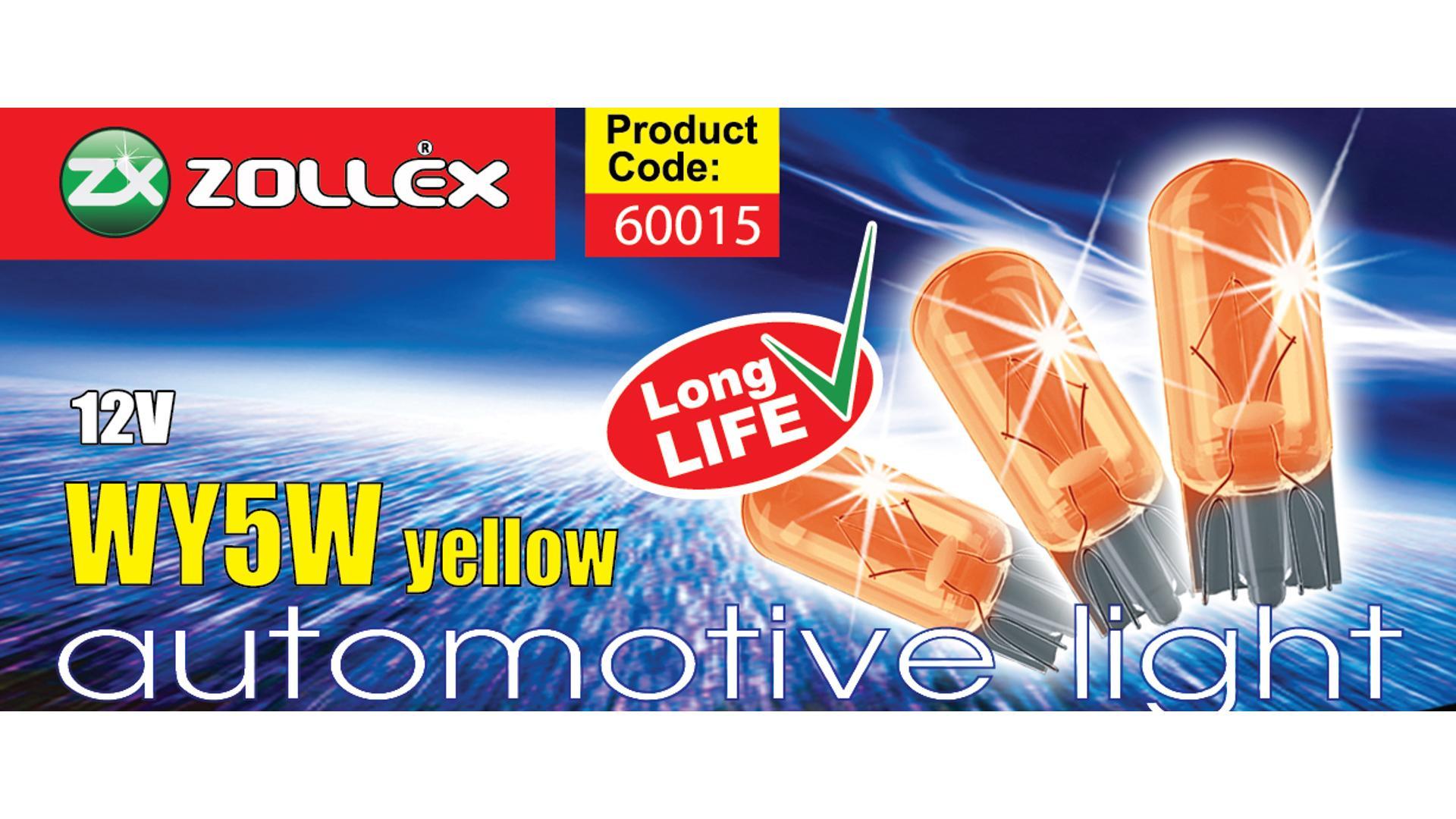 ZOLLEX Žiarovka WY5W žltá 12V (60015)