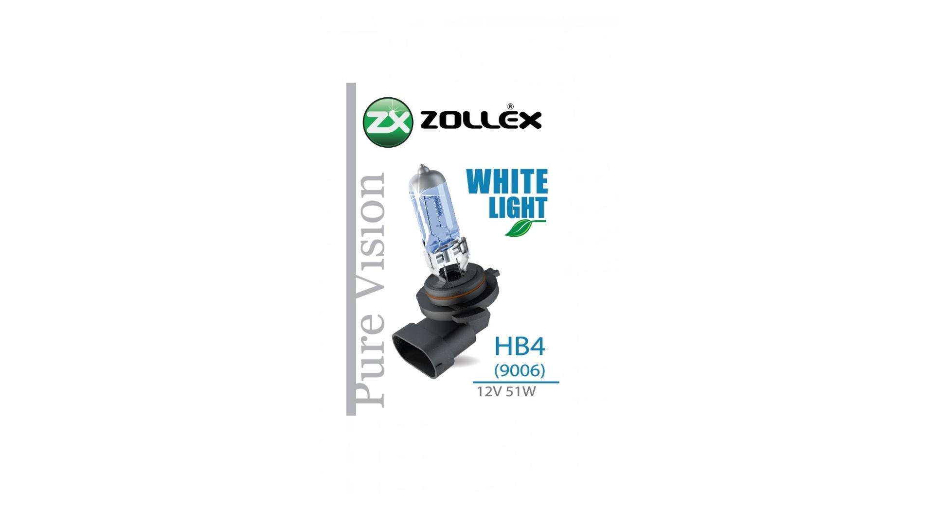 ZOLLEX Halogénová žiarovka HB4 12V 51W pure vision (blue) 61924