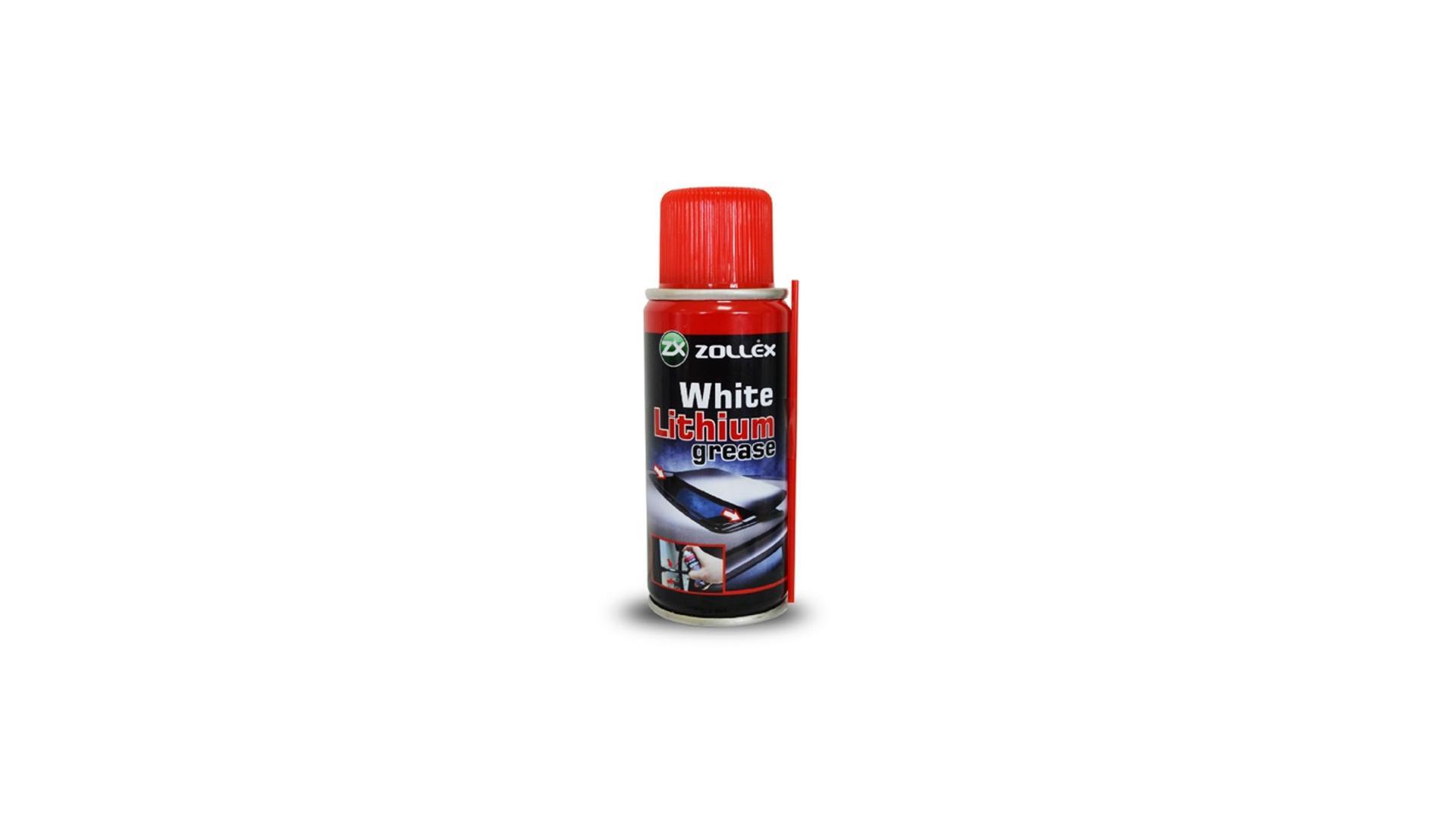 ZOLLEX Biele mazivo lithium v spreji 400 ml (WLG-48)