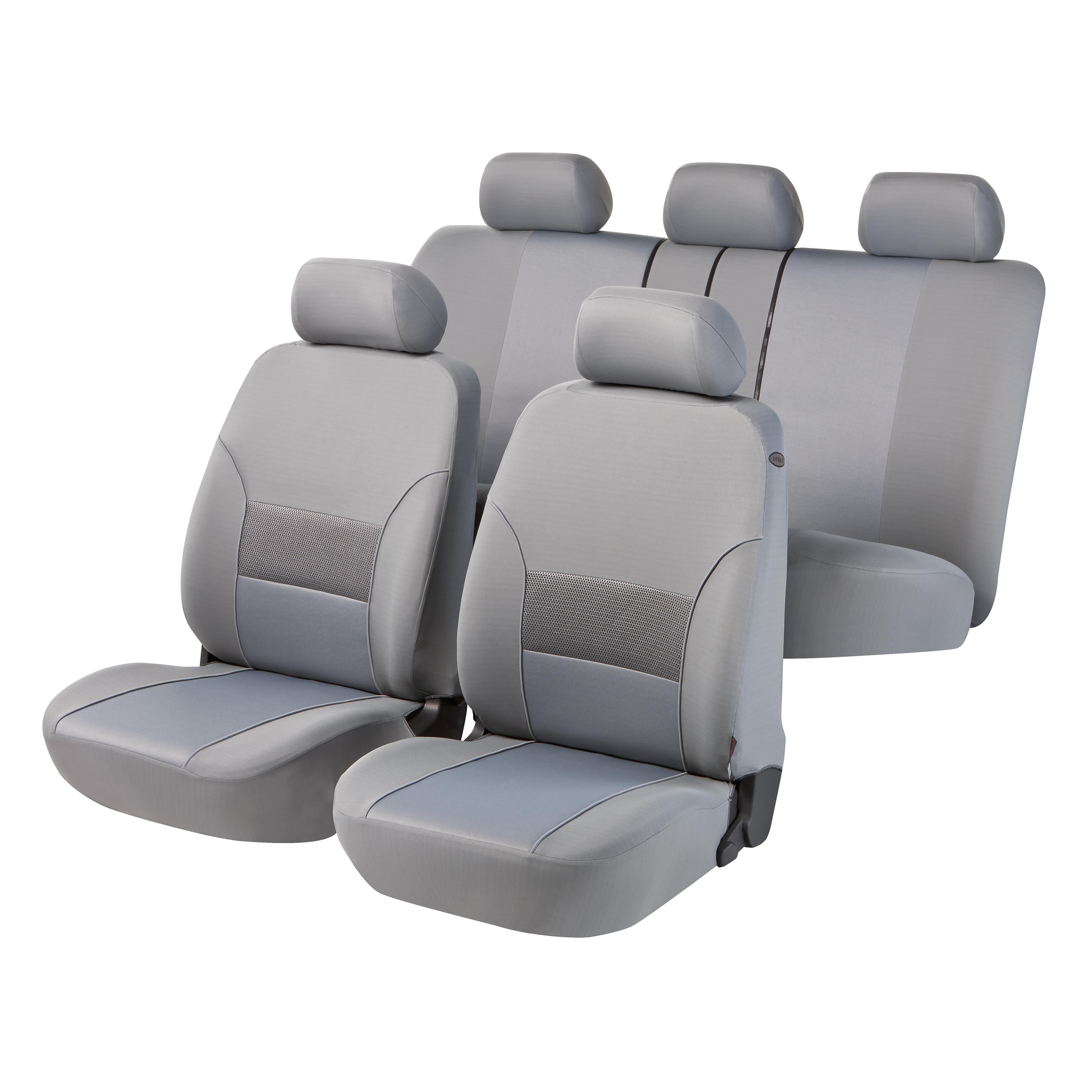 4CARS s.r.o | Walser Car Seat Cover Thames grey