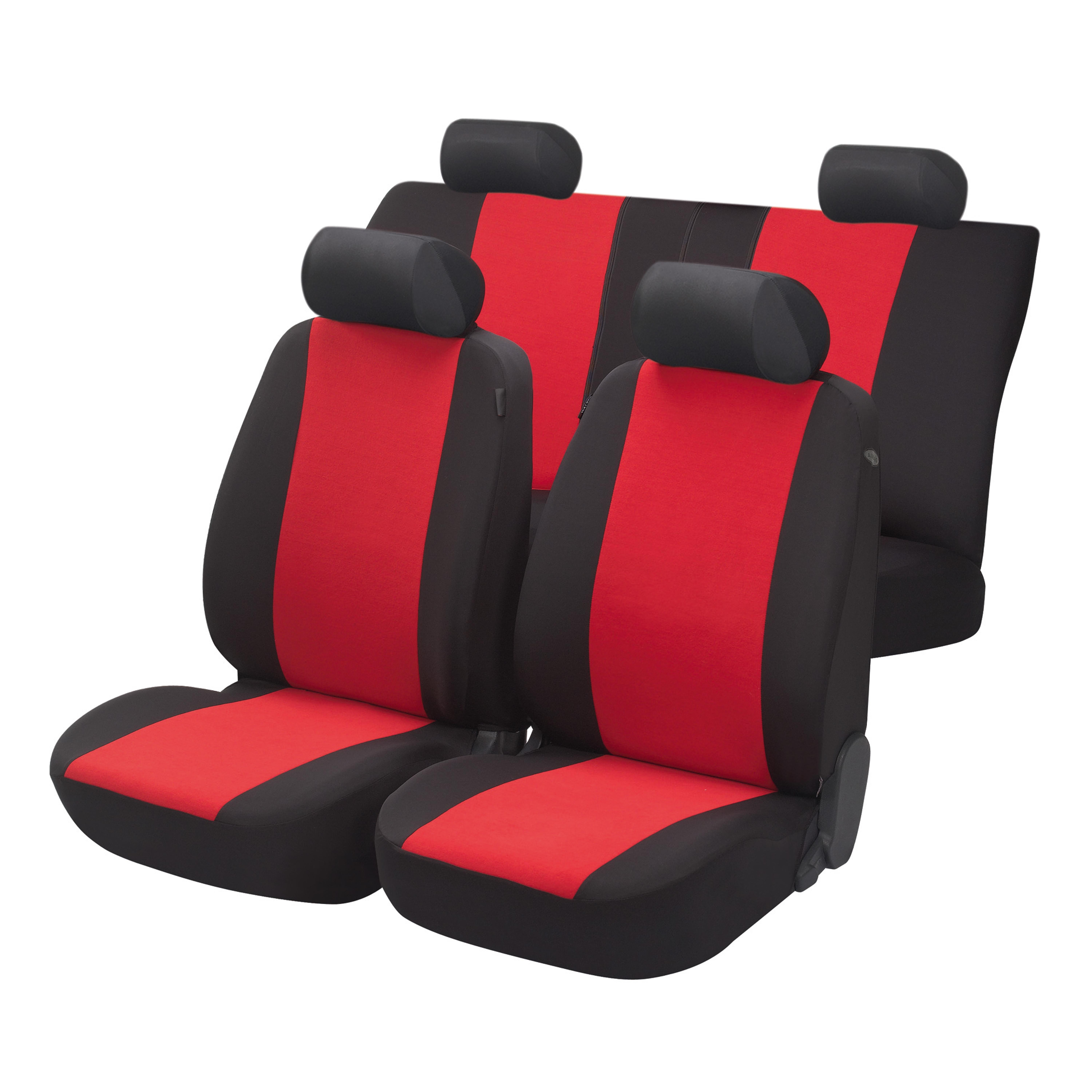 4CARS s.r.o | Walser Car Seat Cover Flash red