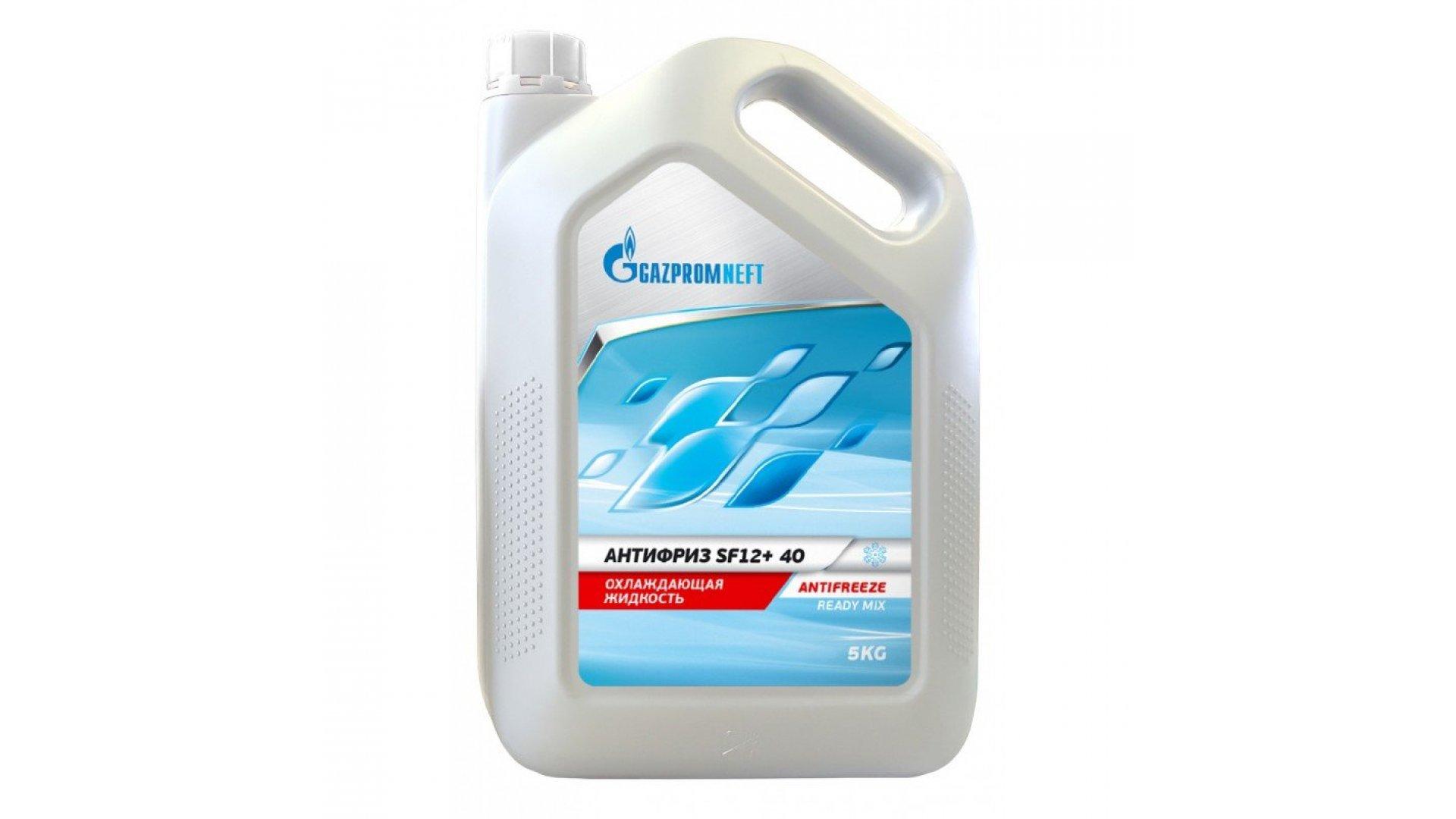 GAZPROM Antifreeze SF12+ 40 (G12+) 5L